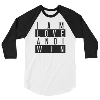 Love Will Win 3/4 Sleeve
