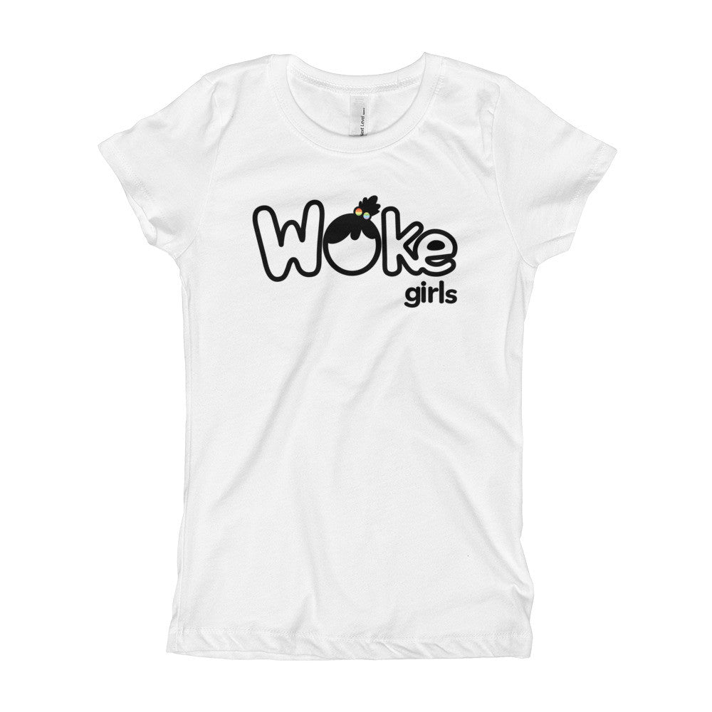 Woke Girls Logo Youth Tee