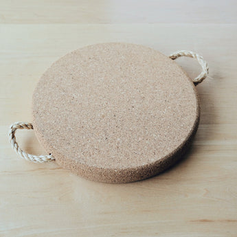 Goose Creek Mercantile, Seattle decor, home accessories, natural kitchenware, kitchenware, cork, cork trivet, trivet, portugese cork.