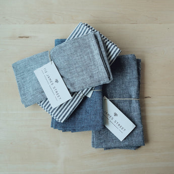 Goose Creek Mercantile, Seattle home decor, interior design, kitchenware, shop, boutique, natural modern, Remodelista, kitchen linens, cloth napkins, hand made, bespoke, 112 james street