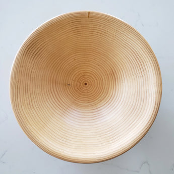 Goose Creek Mercantile, Seattle home decor, Seattle interior design, kitchenware, shop, boutique, natural living, slow living, Remodelista, slow design, ethical design, sustainable design, Vernon Leibrant, wooden bowls, monkey puzzle tree wood