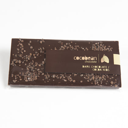 Dark Chocolate and Cocoa Nib Bar