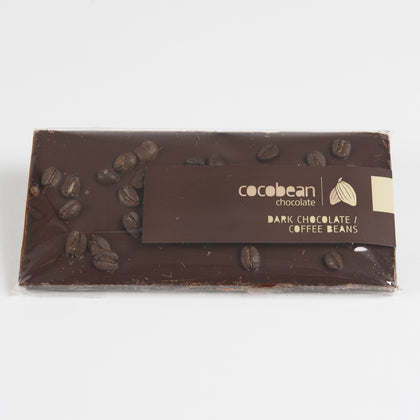 Dark Chocolate and Coffee Bean Bar