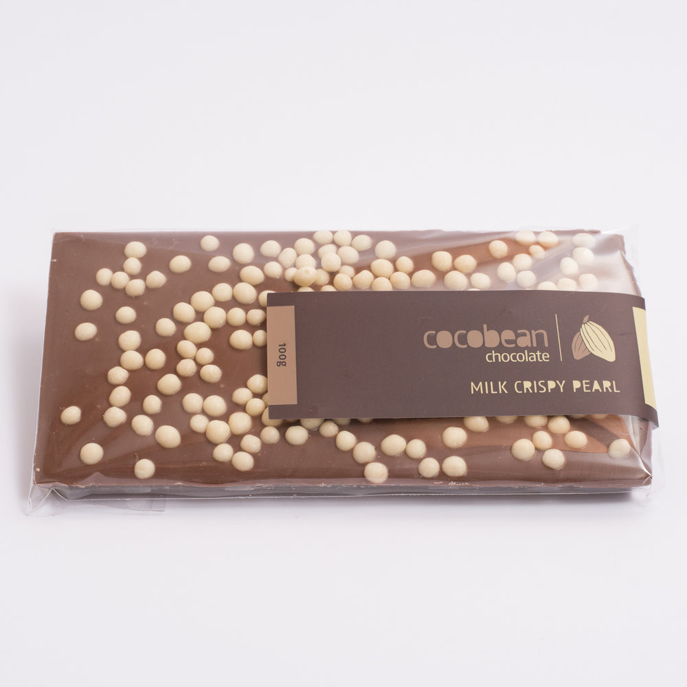 Milk Chocolate Crispy Pearl Bar