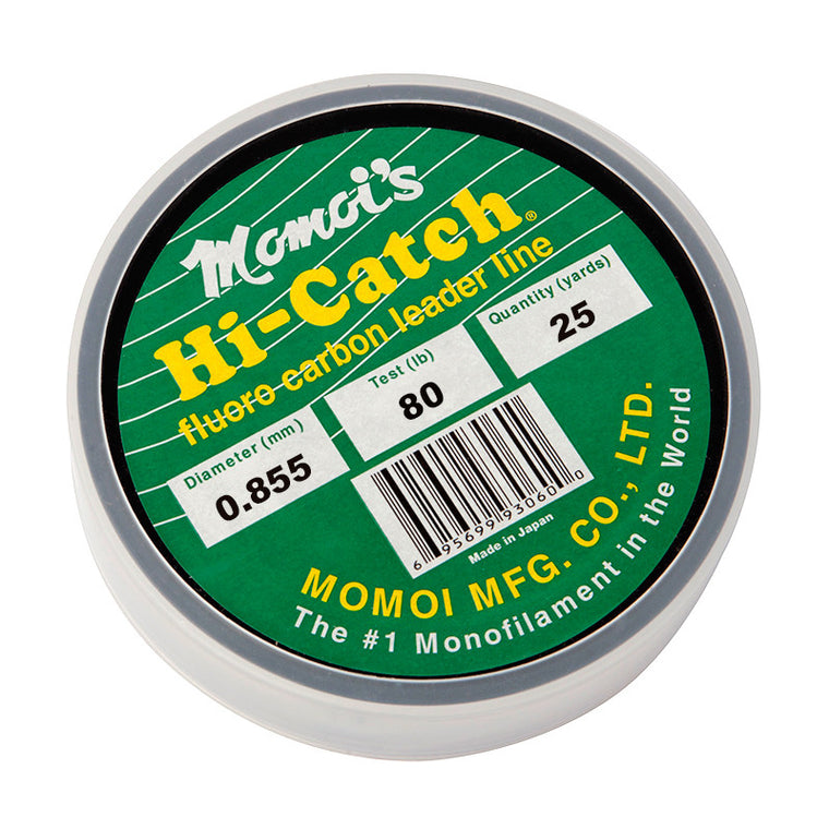 Momoi Hi-Catch Fluorocarbon Leader 25 Yards
