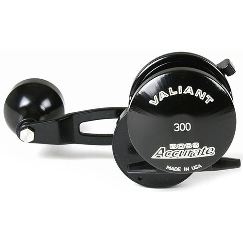 Accurate BV-300 Boss Valiant Conventional Reel - Black - Bulluna.com