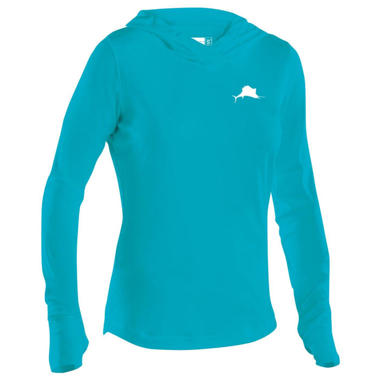 Pelagic Ultratek Hooded Long Sleeve Sun Shirt Women's