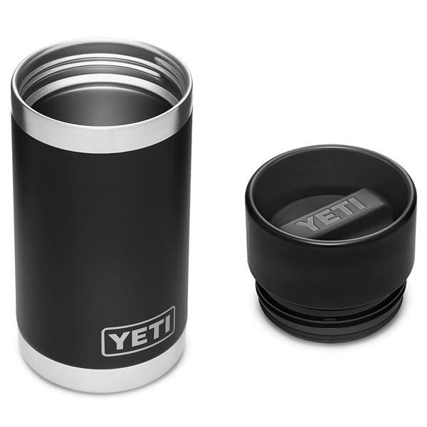 Yeti Rambler 12 Ounce Bottle With HotShot Cap - Black