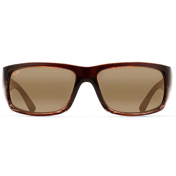 Maui Jim World Cup Chocolate Stripe Fade Sunglasses - Bulluna.com