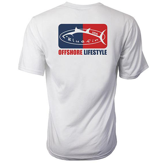 Bluefin USA Offshore Lifestyle Short Sleeve Sun Shirt