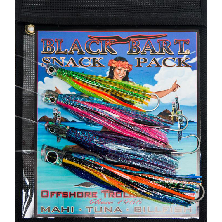 Black Bart Delta Snack Lure Pack