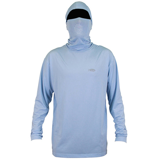 Aftco Fish Ninja Hood Long Sleeve Shirt