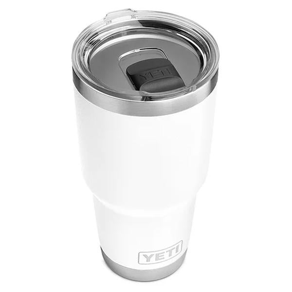 Yeti Rambler 30 Ounce Tumbler With MagSlider - White