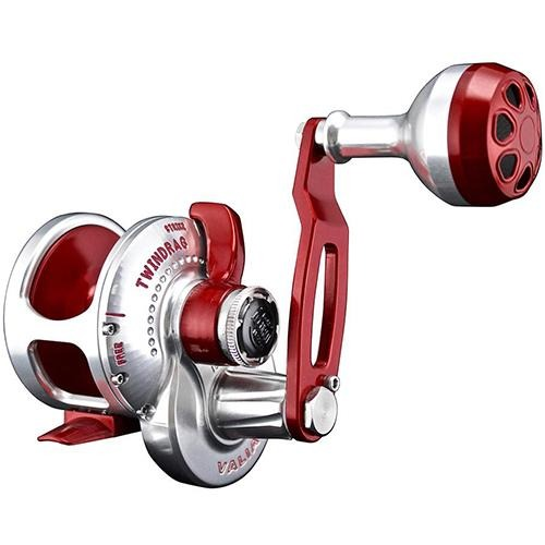 Accurate BV-300 Boss Valiant Conventional Reel - Red/Silver