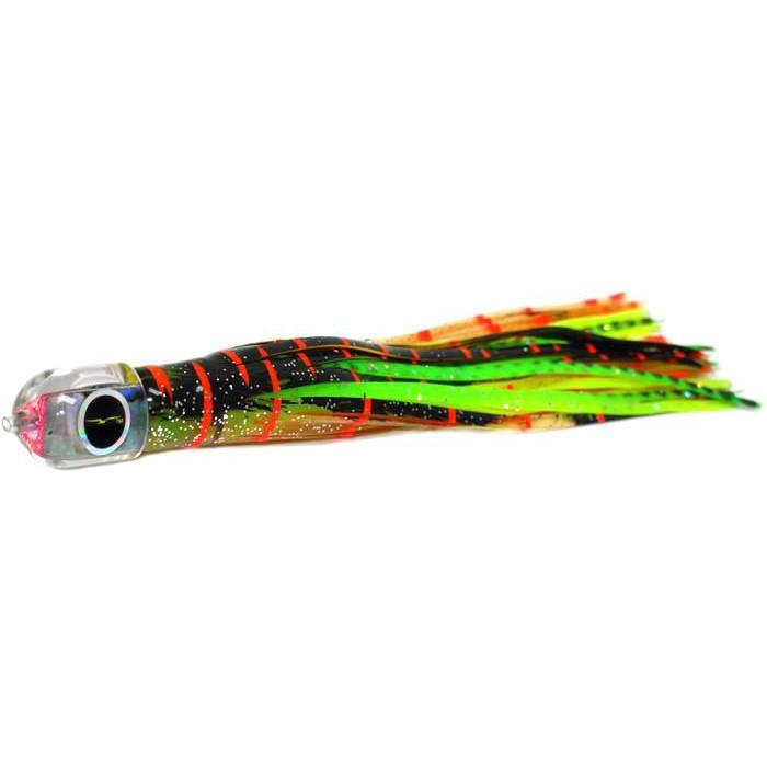 Black Bart IKA Micro Bait - Brown Gold Orange/Green Chartreuse - Bulluna.com