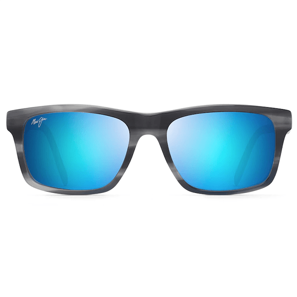 Maui Jim Waipio Valley Blue Grey with Dove Interior Sunglasses - Bulluna.com