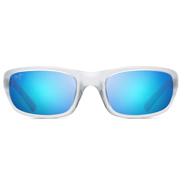 Maui Jim Stingray Crystal Matte - Blue Hawaii Sunglasses - Bulluna.com