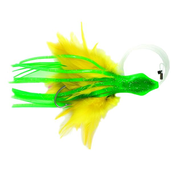 No Alibi Dolphin Delight Rigged & Ready Trolling Lure - 6 Inches - Bulluna.com