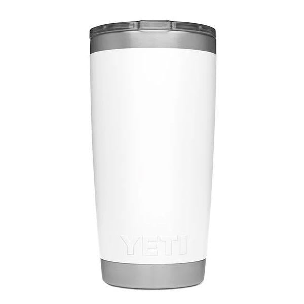 Yeti Rambler 20 Ounce Tumbler With Magslider White