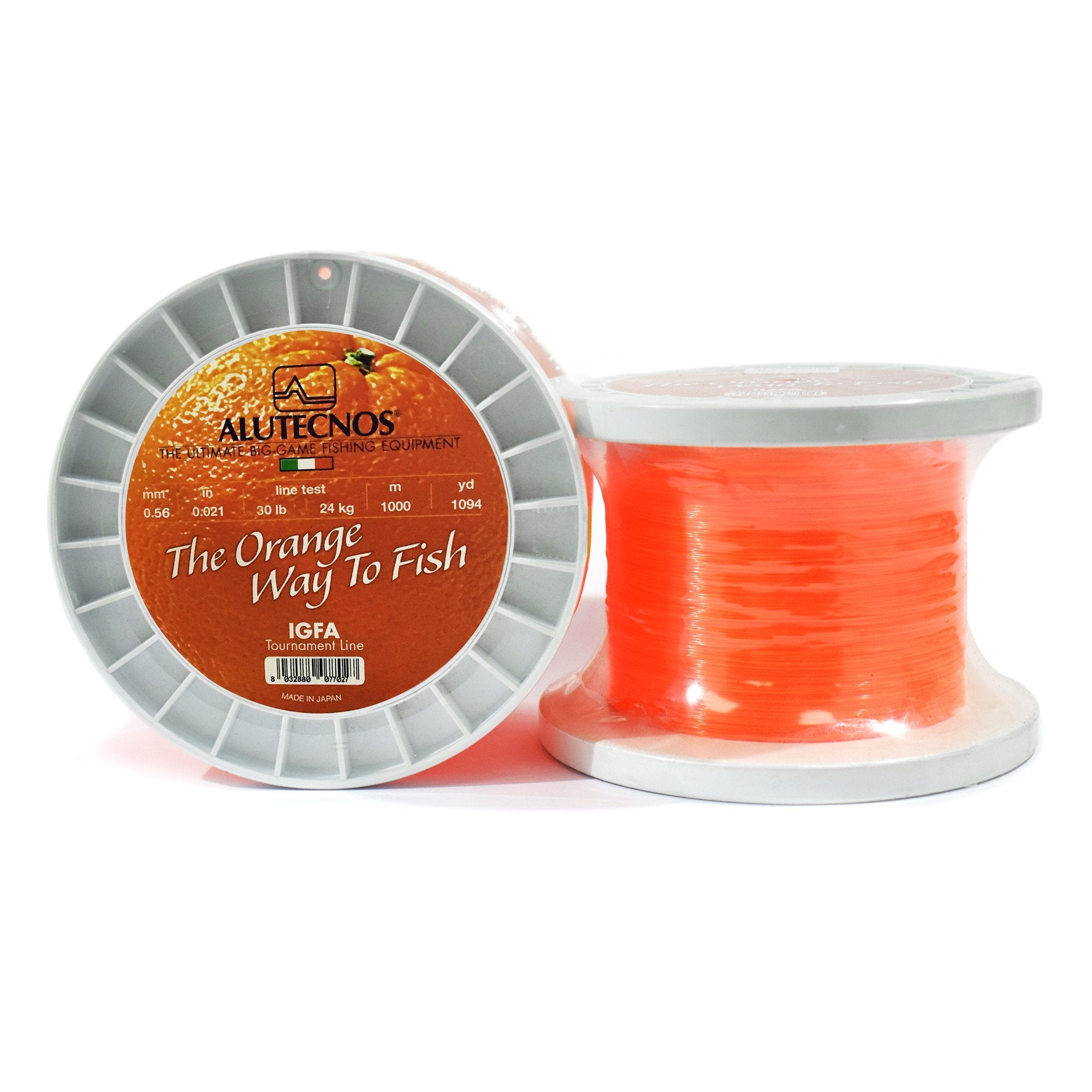 Alutecnos IGFA Orange Monofilament Line 1094 Yards