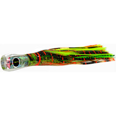 Black Bart Bully Micro Bait Lure - Brown Gold Orange/Green Chartreuse - Bulluna.com
