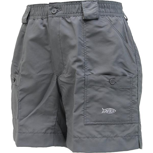 Aftco Original Charcoal Fishing Shorts