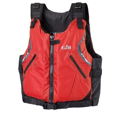 Gill U.S. Coast Guard Approved Front Zip Personal Flotation Device - Red