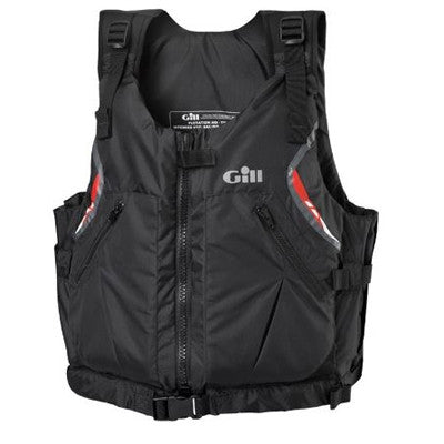 Gill U.S. Coast Guard Approved Front Zip Personal Flotation Device - Black