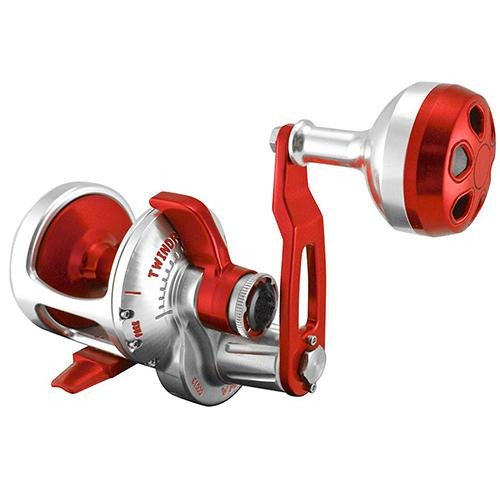Accurate BV-400 Boss Valiant Conventional Reel - Silver/Red