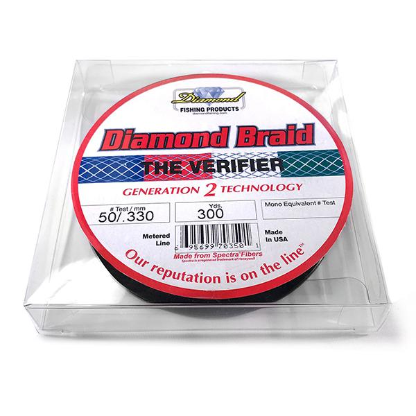 Momoi Diamond Gen 2 The Verifier Braided Line 50 Pounds 300 Yards - Multi Color (HN) - Bulluna.com