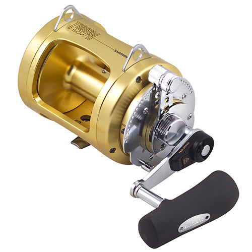Shimano Tiagra A TI50WLRSA Big Game 50 Wide Two-Speed Conventional Reel
