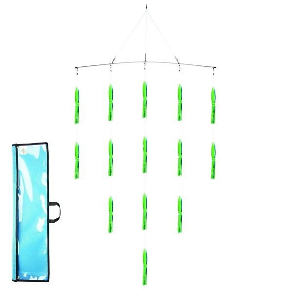 Fathom Squid 36 Inch Spreader Bar - Pre-Rigged - Bulluna.com