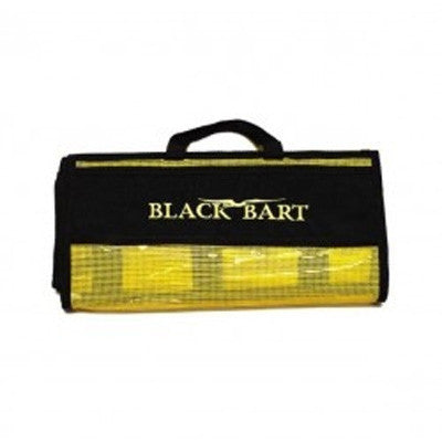 Black Bart 6 Pocket Rollup Medium Lure Bag - Bulluna.com