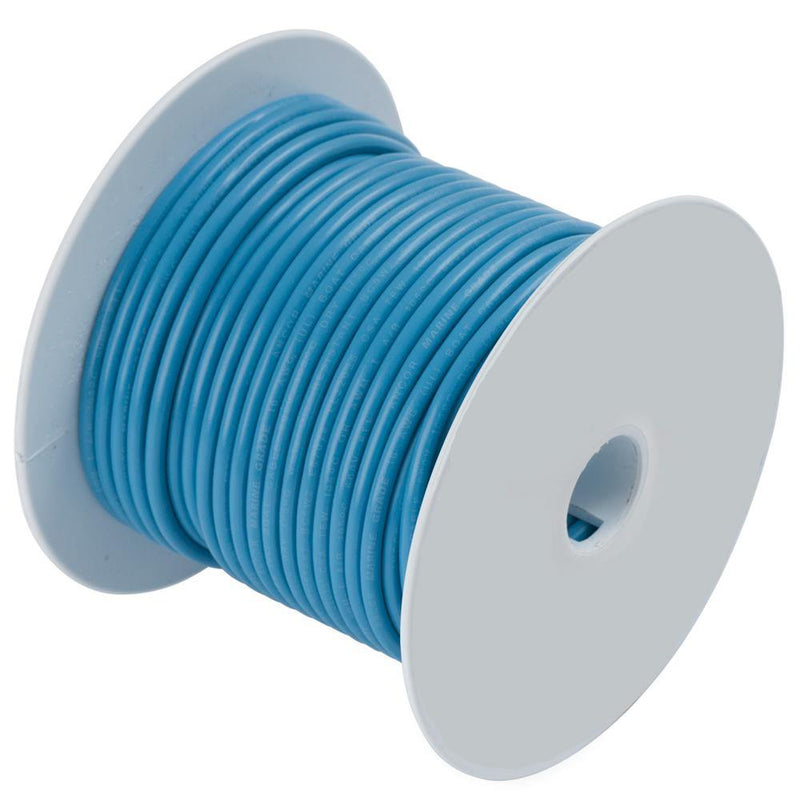 Ancor Light Blue 16 AWG Tinned Copper Wire - 500' [101950] - Bulluna.com