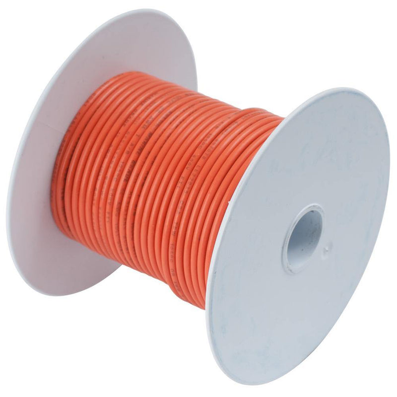 Ancor Orange 16 AWG Tinned Copper Wire - 25' [182503] - Bulluna.com