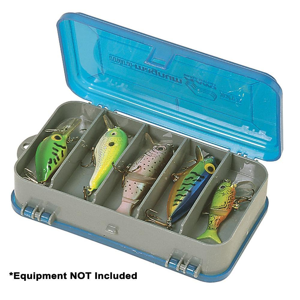 Plano Double-Sided Tackle Organizer Small - Silver/Blue - Bulluna.com