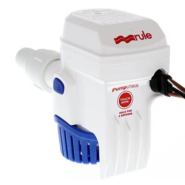 Rule Rule-Mate 500 Fully Automated Bilge Pump - 12V (HN) - Bulluna.com