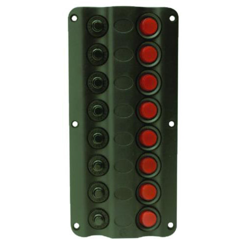 Seachoice LED Switch Panel 12 Volts - Bulluna.com