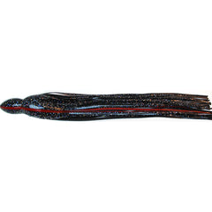 Black Bart S6 14 Inch Length by 1 1/2 Inch Neck Lure Replacement Skirt - Bulluna.com