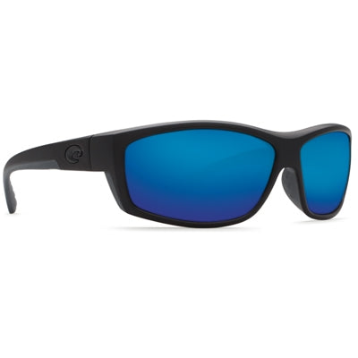 Costa del Mar Saltbreak Sunglasses - Blackout Frame - Blue Mirror Glass - Bulluna.com