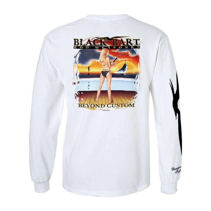 Black Bart Girl Rod Weaponry Long Sleeve T-Shirt