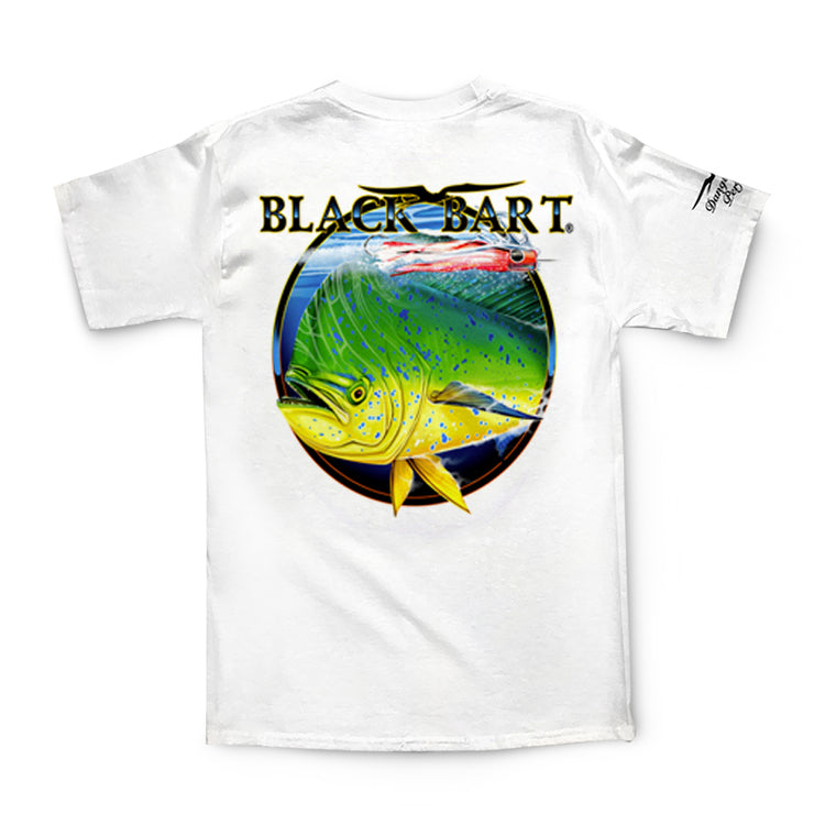 Black Bart Dolphin Short Sleeve T-Shirt