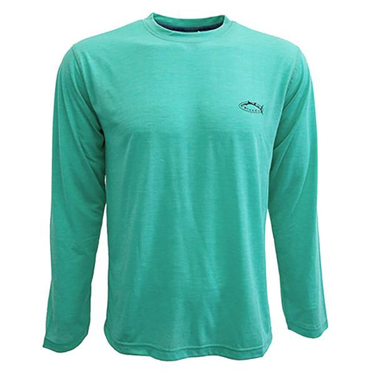 Bluefin USA Basic Aqua Long Sleeve Tech Sun Shirt