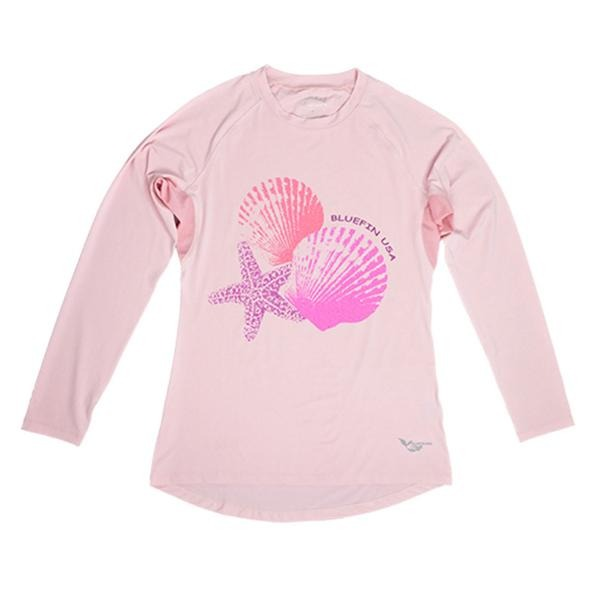Bluefin USA Sea Shells Pink Solar Top - Women - Bulluna.com
