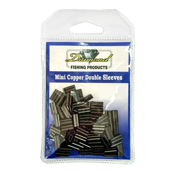 Momoi Diamond Mini Copper Double Sleeves - Size 1.9B - 50 Pack (HN) - Bulluna.com