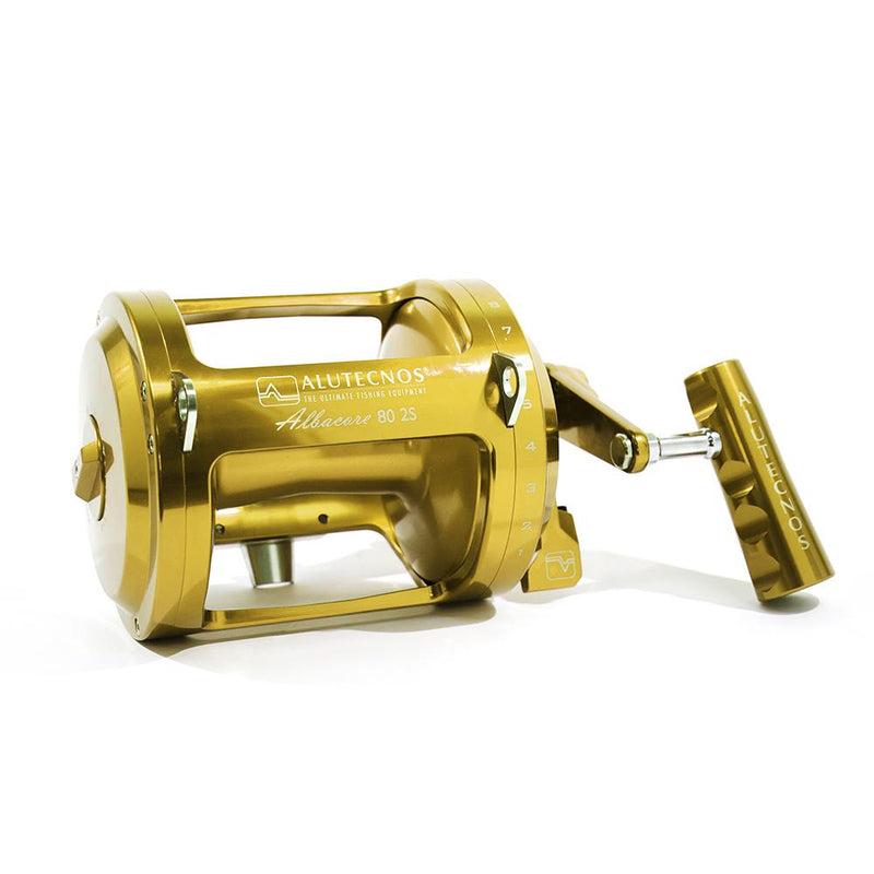 Alutecnos Albacore 80 Narrow Two Speed Reel - Bulluna.com