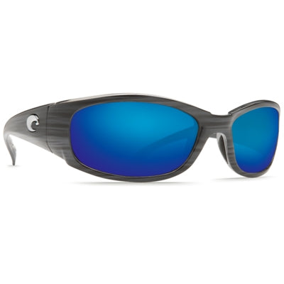 Costa Del Mar Hammerhead Sunglasses - Silver Teak Frame - Blue Mirror Glass