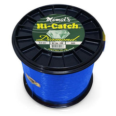 Momoi Hi-Catch Diamond Nylon Monofilament Line 80 Pounds 3000 Yards - Brilliant Blue - Bulluna.com