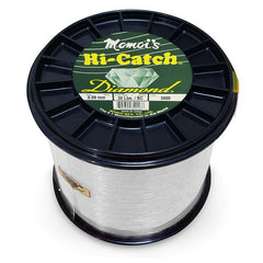 Momoi Hi-Catch Diamond Nylon Monofilament Line 30 Pounds 3000 Yards - Special Clear - Bulluna.com