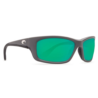 Costa del Mar Jose Sunglasses - Matte Gray Frame - Green Mirror Glass